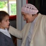 p.Dasza Osiennik z wnuczką Niną Misiejuk