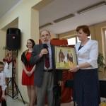 p.Andrzej Łapko i p.dyr.Walentyna Mielnik-Nikołajuk