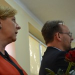 pani Raisa Rajecka, wójt gminy i pan Piotr Bożko, wicestarosta powiatu