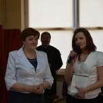 pani Joanna Misiuk, wicedyrektor Szkoły CiM w Białymstoku